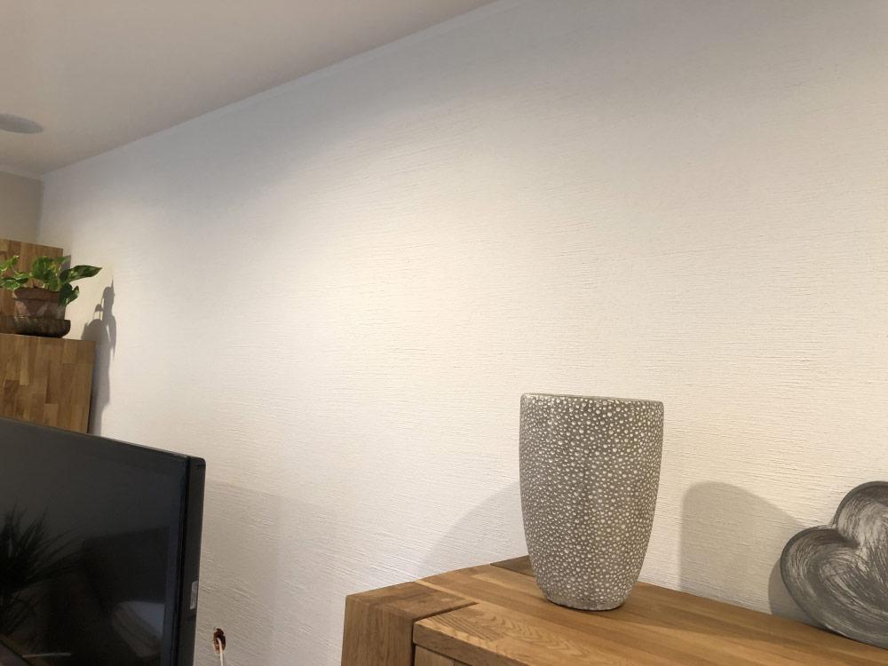 Wohnzimmer- und Küchengestaltung